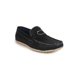 DIGNI BLACK Synthetic Slip On Mens Loafers - 83921651