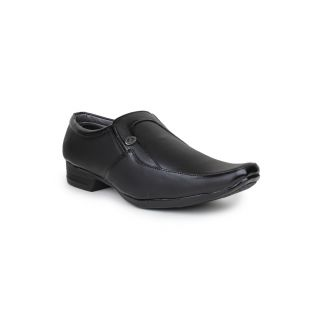 DIGNI BLACK Synthetic Slip On Mens Formal Shoes - 83951965