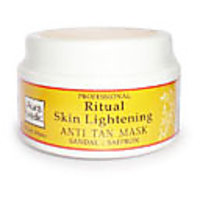 Professional Skin Lightening Mask With Sandalwood, Turmeric And Saffron