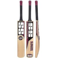 SS Slogger kashmir willow full size cricket bat + free one grip + one fiber tape