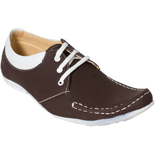Gito Lace Up Mens Brown Casual Loafers