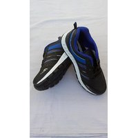 Fiesta Modern Black  Blue Sports Shoes