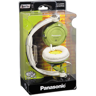 Panasonic DJ Style Headphones s for Ipod / MP3 player (RP-DJS400AEG)