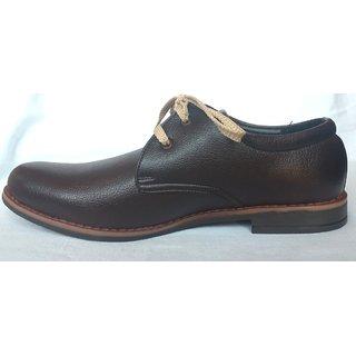 Formal Leather Shoes For Men- Black Apple
