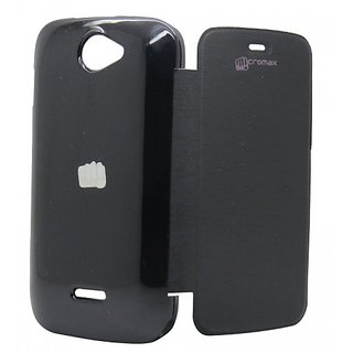 Micromax Flip Cover For A47 Bolt black available at ShopClues for Rs.127