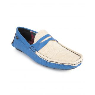 Wega Life Dulce Blue/White Men'S Loafers