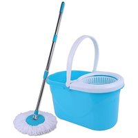 Easy Mop With Bucket Sky Blue And White