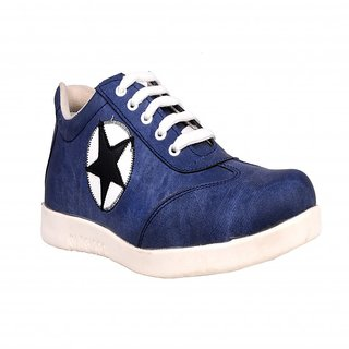 CNS Men's Blue And White Casual Shoes