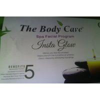 The Body Care Spa Facial Program Insta Glow Facial Kit