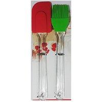 Nimarketing Silicone Basting Brush & Spatula - 84345523