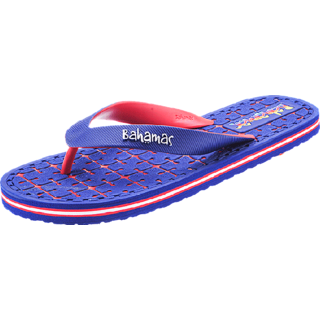 Bahamas For The Party Goers Blue & Red Sleepers By House Of Relaxo Footwears Limited
