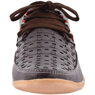 Hot Man Mens Black Synthetic Casual Shoes - 6 UK - 84358905