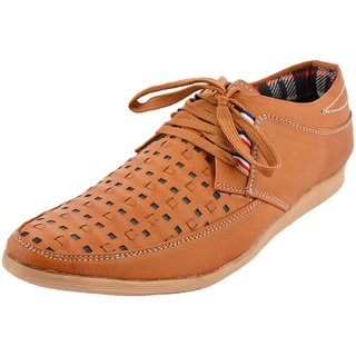 Hot Man Mens Black Synthetic Casual Shoes - 6 UK