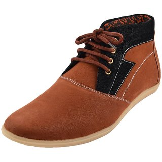 Hot Man Mens Black Synthetic Casual Shoes - 6 UK - 84385023