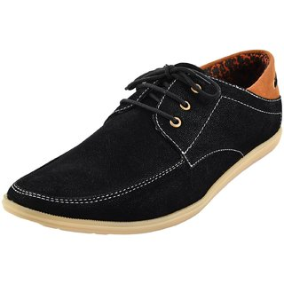Hot Man Mens Black Synthetic Casual Shoes - 6 UK - 84385025