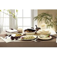 Signoraware Dinner Set 36 Pcs. With Double Wall Casseroles
