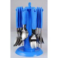 Elegante Stainless Steel, Plastic Cutlery Set(Pack Of 24)