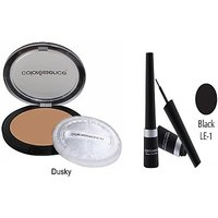 Coloressence Makeup Kit Compact - 10 G(Beige - CP-1)Coloressence Bridal Kajal
