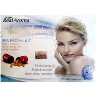 Real Aroma Anti Aging Spa Facial Kit 5-in-1 Facial Pack
