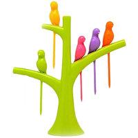 Bright Bird Fruit Fork - Set Of 2