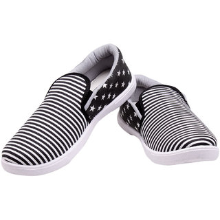 Elligator Stylish Unisex Canvas Slip-On Shoes