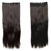 Majik Human Hair Extensions Online, Dark Brown, 22 Inches 100G