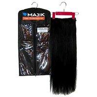 Majik Human Hair Extensions Online, Natural Black, 20 Inches 100G