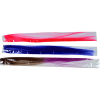 Majik Colored Hair Extensions Combo Pack, Noen Pink Blue And Purple/Brown, Set Of 3