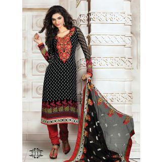 Mind Blowing Black Designer Salwar Suit