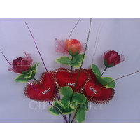 Artificial Roses Bunch
