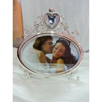 Photo Frame with studded heart cystal