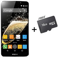 ZOPO SPEED 7 PLUS 5.5 Screen 3+16G 4G LTE Dual SIM Smartphone  Black