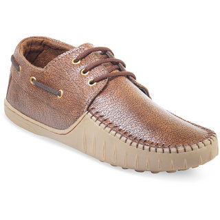 ADYBird Mens Dark Brown Casual Shoes 0742