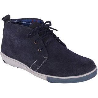 TROTTER Mens Genuine Suede Leather Casual Shoe - 85158044