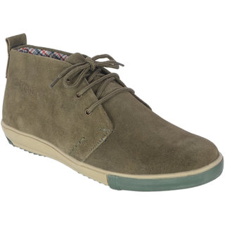TROTTER Mens Genuine Suede Leather Casual Shoe
