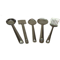 Set Of 5 Pcs. Stainless Steel Skimmer