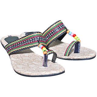 Port Ladies Black Footwear