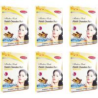 Ganpati Herbal Haldi Chandan Face Pack 25 Gms Set Of 6