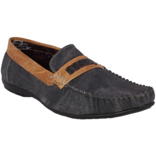 Imsparky  Mens Black Loafers  Shoes