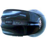 Ad Net AD-868 Bluetooth/Wireless Mouse-Black