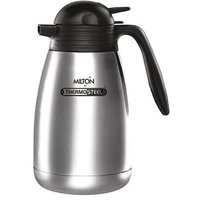 Milton Thermosteel Carafe 2000ml Stainless Steel Flask Hot And Cold