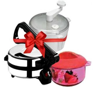 Branded Electric Roti Maker + Atta Maker + Free Hotpot available at ShopClues for Rs.1589