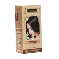 Indus Valley 100 Botanical Organic Healthier Hair Colour, INDUS BLACK