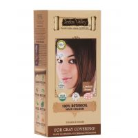 Indus Valley 100 Botanical Organic Healthier Hair Colour, CHESTNUT BROWN