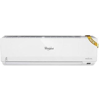 Whirlpool 1 Ton 3 Star MAGICOOL DLX III Air Conditioner WHITE