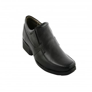Pureits Formal Leathers Genuine Leather Padded Slip On Shoes