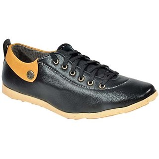 Dox Men's Black  Casual Shoes