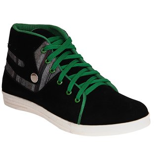 Dox Men's  Black&Red Casual Shoes