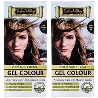 Indus Valley Permanent Herbal Hair Colour Light Brown 5.0 Kit (Set Of 2)