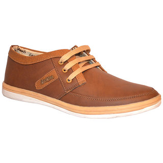 Stylos Mens Dark Brown Casual Shoes